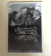 VAL PUSTERIA HOTEL LAGO DI BRAIES NON VIAGGIATA F.G.  KK - Bolzano (Bozen)