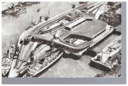 62 - BOULOGNE SUR MER - VUE AERIENNE DE LA NOUVELLE GARE MARITIME - Boulogne Sur Mer
