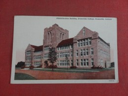 - Indiana> Evansville  College      Ref 1515 - Evansville