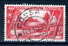 1932 - Regno - Italia - Italy - Sass. Nr. 334 - Used (o) - (PG19092014...) - - 1900-44 Vittorio Emanuele III