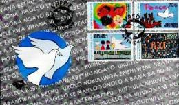 RSA, 1994, Mint First Day Cover Nr. 6-03a, Peace Issue, SACCnr(s) - FDC
