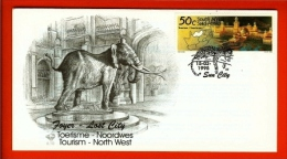 RSA, 1995, Mint First Day Cover Nr. 6-10, North West Province, SACCnr(s) - FDC