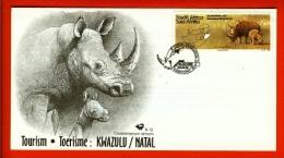 RSA, 1995, Mint First Day Cover Nr. 6-12, Kwa-Zulu Natal, SACCnr(s) - FDC