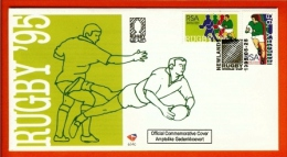 RSA, 1995, Mint First Day Cover Nr. 6-14c, Rugby  , SACCnr(s) - FDC