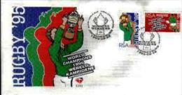 RSA, 1995, Mint First Day Cover Nr. 6-14d, Rugby  Champions , SACCnr(s) - FDC