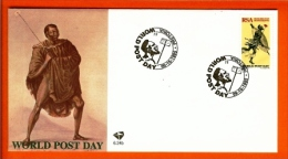 RSA, 1995, Mint First Day Cover Nr. 6-24b, World Post Day, SACCnr(s) - FDC