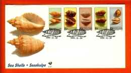 RSA, 1995, Mint First Day Cover Nr. 6-27, Shells, SACCnr(s) - FDC
