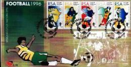 RSA, 1996, Mint First Day Cover Nr. 6-28, African Football, SACCnr(s) - FDC