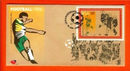 RSA, 1996, Mint First Day Cover Nr. 6-29, African Football, Block 41, SACCnr(s) - FDC