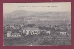 24 - 200914 - LE BUISSON - Vue Panoramique - église - Tampon 96e Territorial 14e Compagnie Détachement Du Buisson - France