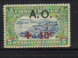 """RUANDA-URUNDI 36** Timbres du Congo Belge de 1918 surcharg�s """"A.O"""" - NEUFS"""