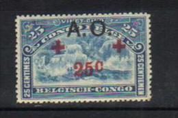 """RUANDA-URUNDI 39** Timbres du Congo Belge de 1918 surcharg�s """"A.O"""" - NEUFS"""