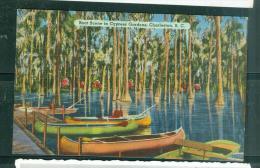 Boat Scene In Cypress Gardens, Charleston S.C. - Eai38 - Charleston