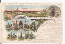 Gross   Von  Dem  Vionville     SCHLACHTFELD Des 16 .AUG.1870 - Francia