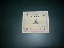 Italia. 2 Lire 1943.  Fine - Geallieerde Bezetting Tweede Wereldoorlog