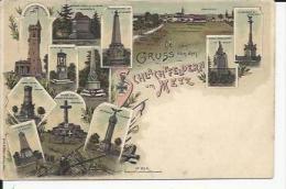Gravelotte     Gruss  Von Dem     Monuments   Guerre De 1870 - Autres Communes