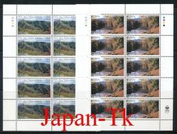 """ARMENIEN  Mi. Nr. 353-354  Europa Cept """" Natur- Und Nationalparks"""" - 1999  -Kleinbogen -MNH - Europa-CEPT"""