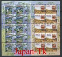 """LITAUEN Mi. Nr. 693-694  Europa Cept """" Natur- Und Nationalparks"""" - 1999  -Kleinbogen -MNH - Europa-CEPT"""