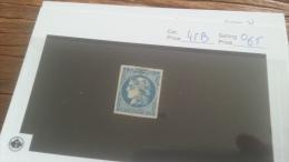 LOT 224005 TIMBRE DE FRANCE OBLITERE N�45B VALEUR 65 EUROS