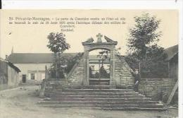 Saint Privat    Porte Du Cimetiére   1870 - Francia