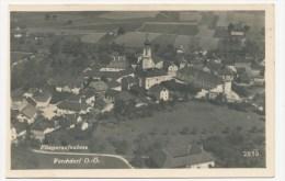 Vorchdorf, Fliegeraufnahme Aus 1942,  Gel. 14. 12. 1950 - Vorchdorf