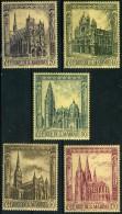 SAINT MARIN 704/708** Cathédrales Gothiques - Unused Stamps