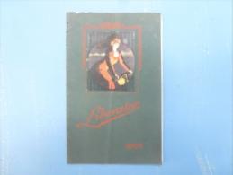"CATALOGUE  , MANUFACTURE DE CYCLES ""LIBERATOR"",1909 - Advertising"