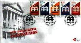 RSA, 1996, Mint First Day Cover Nr. 6-37,  Constitution,  SACCnr(s) - FDC