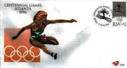 RSA, 1996, Mint First Day Cover Nr. 6-39,   Olympic Games Atlanta,  SACCnr(s) - FDC