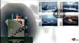 RSA, 1996, Mint First Day Cover Nr. 6-40,  Merchant Marine,  SACCnr(s) - FDC