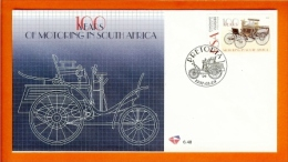 RSA, 1997, Mint First Day Cover Nr. 6-48 Automobile,  SACCnr(s) - FDC