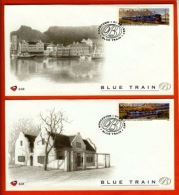 RSA, 1997, Mint First Day Cover Nr. 6-50/1/2/3/4, Blue Train,  SACCnr(s) - FDC