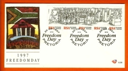 RSA, 1997, Mint First Day Cover Nr. 6-56, Freedom Day,  SACCnr(s) - FDC
