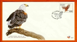RSA, 1997, Mint First Day Cover Nr. 6-57, Endangered Bird, 20 Rand,  SACCnr(s) - FDC