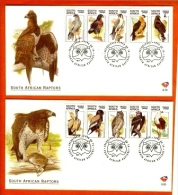 RSA, 1998, Mint First Day Cover Nr. 6-79+6-80, Birds Of Prey,  SACCnr(s) - FDC
