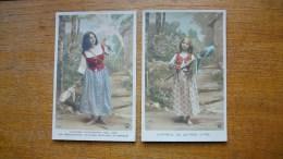 2 Anciennes Cartes Jeanne D'arc - Personajes