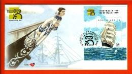 RSA, 1999, Mint First Day Cover Nr. 6-95,  Australia Ship Block 74.,  SACCnr(s) - FDC