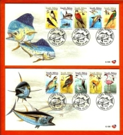 RSA, 1999, Mint First Day Cover Nr. 6-108+6-109,  Migratory Species.,  SACCnr(s) - FDC