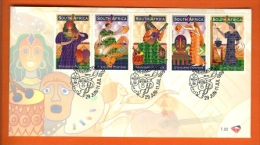 RSA, 1999, Mint First Day Cover Nr. 7-02,  Grahamstown.,  SACCnr(s) - FDC