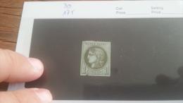 LOT 224023 TIMBRE DE FRANCE OBLITERE N�39 VALEUR 175 EUROS