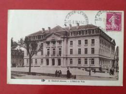 23 Creuse GUERET L'Hotel De Ville + Cad St Dizier Leyrenne - Guéret