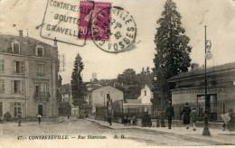 88 CONTREXEVILLE Rue Stanislas Animation Philatélie Flamme - Vittel Contrexeville