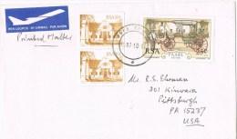 10447. Carta Aerea TOKAI (South Africa) 1987 - África Del Sur (1961-...)
