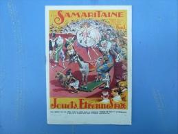A LA SAMARITAINE, JOUETS, ETRENNES 1926, - Advertising