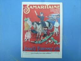 A LA SAMARITAINE, JOUETS, ETRENNES 1924, - Advertising