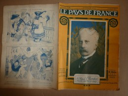 1919 LPDF: Diables-Bleus à Bruxelles;Plan Des OBUS De BERTHAS à Paris;Inondation Seine;Carnet De Route D'un HUSSARD - Revues & Journaux