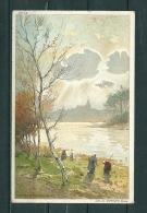 LA HULPE: L'Etang, Gelopen Postkaart 1913 (GA17434) - La Hulpe