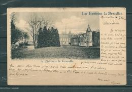 TERNATH: Le Chateau, Gelopen Postkaart 1900 (GA17438) - Ternat