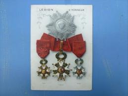 LEGION D' HONNEUR,CATALOGUE AVEC TARIFS, DELANDE FABRICANT PARIS, - Advertising
