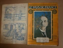1919 LPDF: Plan Des Chutes Bombes Zeppelins Et Gothas à PARIS; Inondations;Enfants De Strasbourg;Carnet D'un HUSSARD - Revues & Journaux